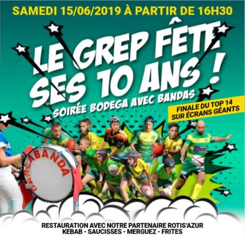 15 JUIN 2019 – LE GREP FETE SES 10 ANS